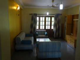 Rent: 2BHK Fully Furnished Caranzalem, gym, swimming pool, clubhouse