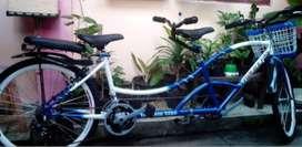 Menerima pembuatan sepeda tamdem