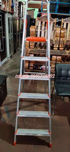 Aluminium .Ladder. ..6 step model with warranty.available
