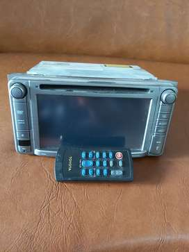 Double din ex Fortuner