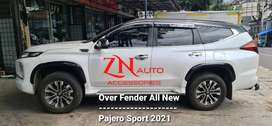FENDER SLIM IMPORT UNTUK MOBIL PAJERO SPORT 2021 NEW