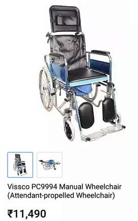 Patient recliner wheelchair for urgent sale
