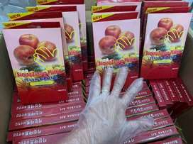 Sarung tangan plastik