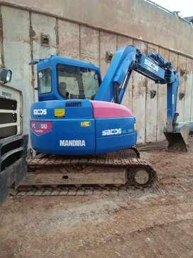 Alat berat mini excavator pc50 pc75 sewa beko dozer wales vibro breker