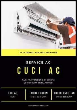 Service Cuci AC isi freon AC Pasang AC Bongkar AC Bekasi