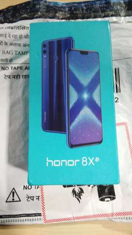 Honor 8x Mobile Using after 8