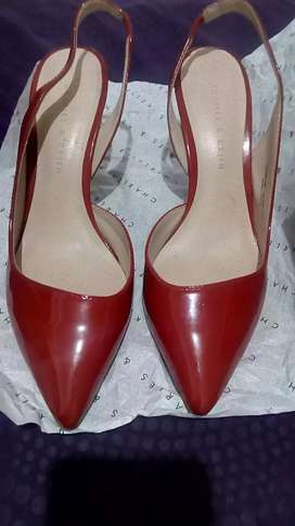 Vincci Shoes | High Heels 7cm | Sexy Red | Size 36