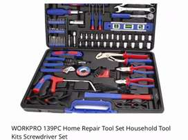 Work Pro 139 piece Tool set excellent professional quality brand new