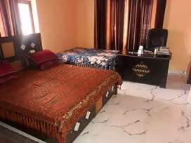 Without owner 2bhk furnished flat available chaman vihar GM's road