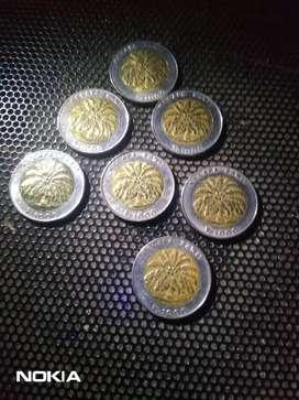Uang koin BIMETAL RUPIAH kelapa sawit