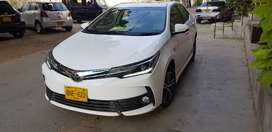 Toyota Corolla Grande 2018 Excellent Condtion.
