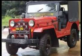 Mahindera modified jeep