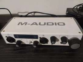 M-audio soundcard 2 channel (MTRACK)