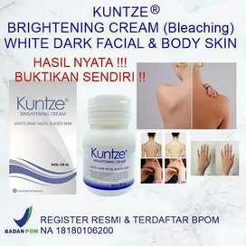 Kuntze Brightening cream / Bleaching badan