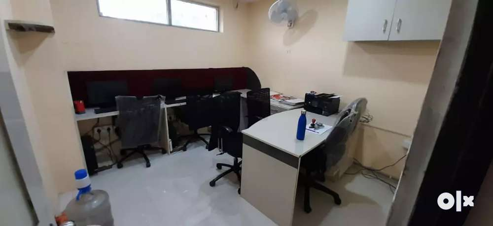 plug & play office work space available for rent in manjeera majestic