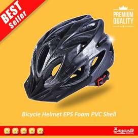 SR Helm Sepeda Gunung Warna merah,hitam putih