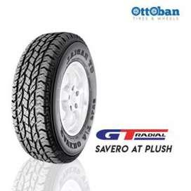 Ban GT savero AT plus Ukuran 265/60 R18 bisa untuk mobil Pajero Navara