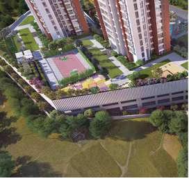 Get very beautiful   2 BHK  Flat for Sale in  Kavesar, Thane West, God