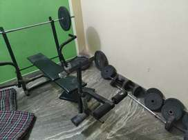 Black bench press