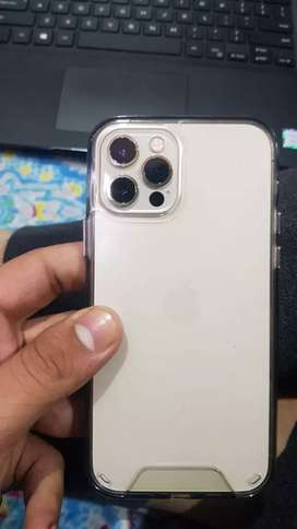 iPhone 12 pro gold colored 128gb with all accessories available