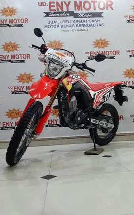 Honda CRF 150 th 2019 Km 800 Knalpot double