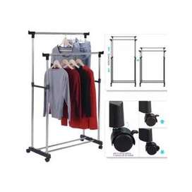 Double Pole Hanger clean task to simply sell off all of your collectio