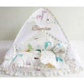 Bumbee bed series plus kelambu