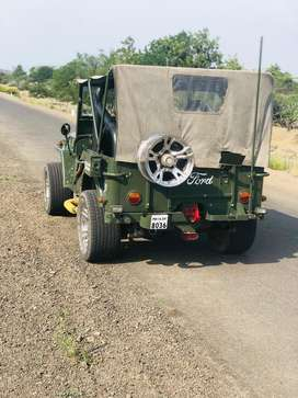 Open type jeep