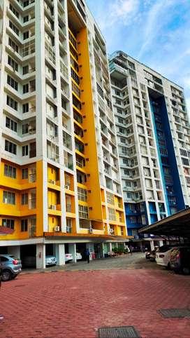 2 BHK Semi Furnished Flat For Rent At Sasthamangalam (RENT-15000)