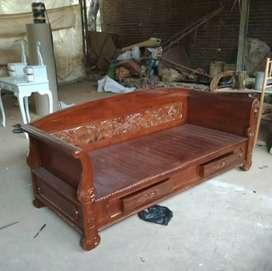 Bale-bale kursi santai bagong furniture jati.