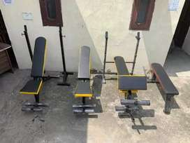 All type of gym equipment