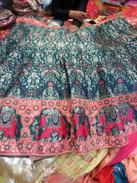 Silk lehnga selected lehanga