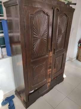 Wooden antique look almiirah