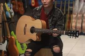 Gitar akustik original cowboy gw 235 na