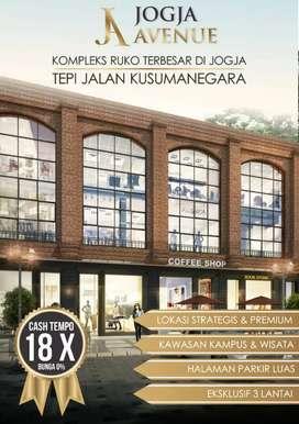 Ruko 3 Lantai Jogja Avenue Strategis Jln Kusumanegara Yogyakarta