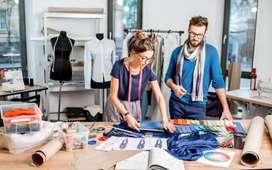 Fashion designer merchant training experience