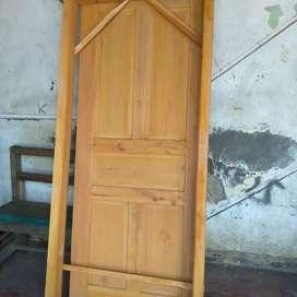 Pintu kusen baru terjangkau dan berkualitas