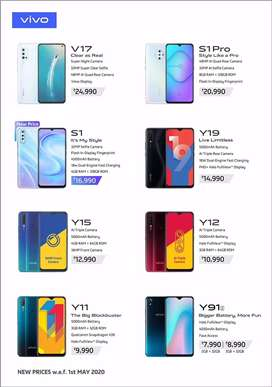 Mobile vivo all model starting 8000