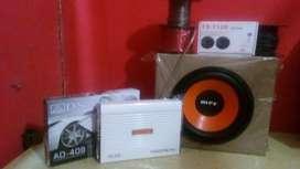 Paket Audio Mobil+pSang
