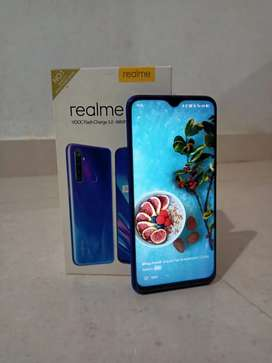 Realme 5 pro 4/64 GB blue colour, one year completed