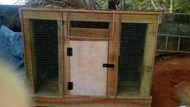 Hen cage for wood 4*3*2