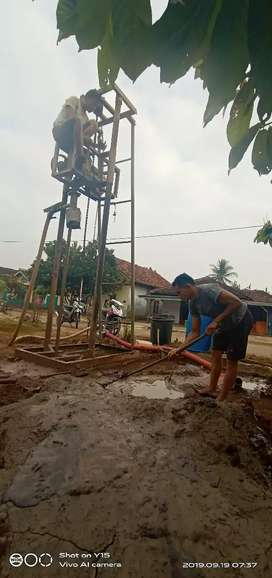 Jasa Pembuatan Sumur Bor dari Pringsewu