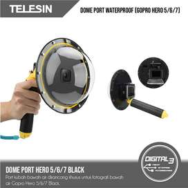 Telesin Dome Port 6 Inch GoPro Hero 5 6 7 Black Go Pro Hero 2018