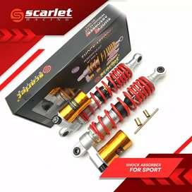 shock scarlet ready, nmax,aerox,pcx,xmax mio dan vario