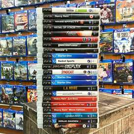 Sony playstation 3 games and controller discount sale