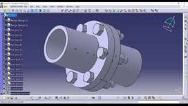 We are Autocad, Catia v5,Solid works,creo Design mechanical engineers