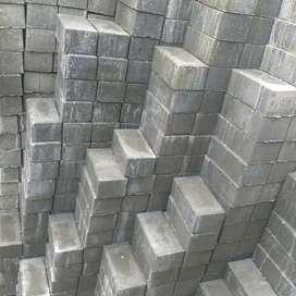 Paving block berbagai motif manual dan press mesin