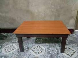 Meja kecil serbaguna utk lesehan/belajar anak/laptop/makan/mewarna/TPA
