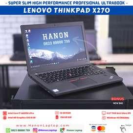 LENOVO THINKPAD X270 CORE I7 16GB FHD DUAL BATTERY 4G LIKE NEW LAPTOP