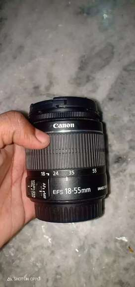 Canon 1200d with 2lens 18mm-55mm and 55mm-250mm